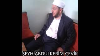 Norşin Şeyh Abdulkerim Çevik  Safvetü't Tefasir dersleri Ali İmran ilk ayetlerin tefsiri