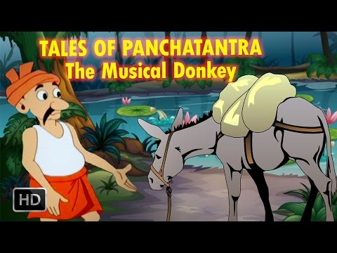 Tales Of Panchatantra - The Musical Donkey - Short Stories For Kids - Animated   Cartoon Stories video