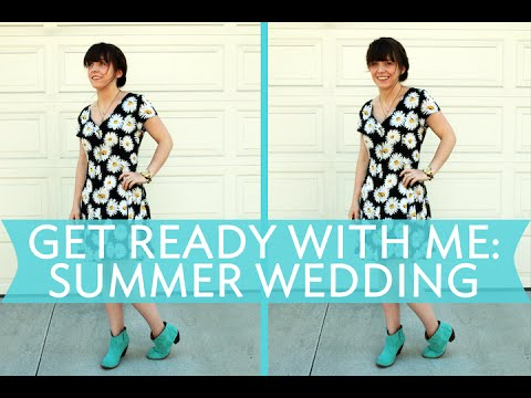 Get Ready With Me: A Summer Wedding | Broke But Bougie