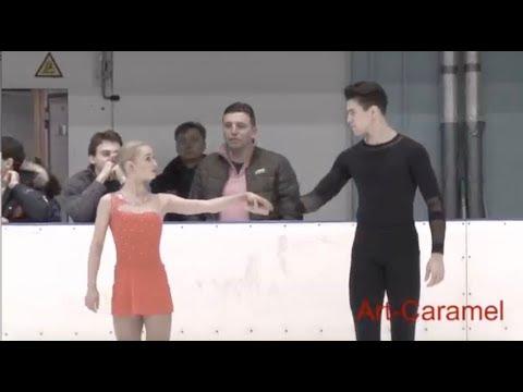 Амина АТАХАНОВА / Никита ВОЛОДИН (дебют) - Первенство Санкт-Петербурга 2018 год  KMC Пaры