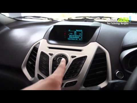 "Experiencing   ford Sync "" in the ford Ecosport Features"