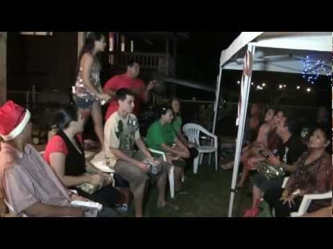 X Mas Party At Sterling Wright Family, Oahu, Hawaii, Dec  22, 2012