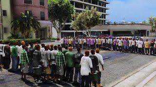 GTA 5 BEST FIGHT !!! // RAGDOLLS MOMENTS (euphoria physics)