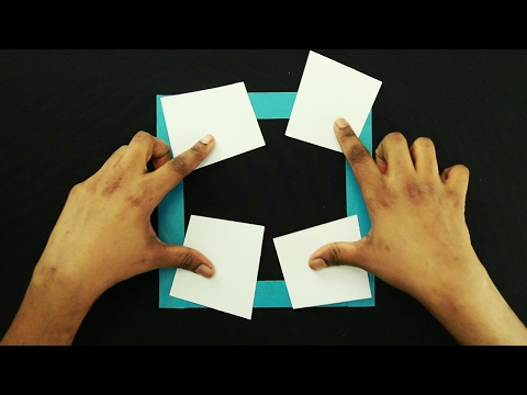 3 Amazing Paper Tricks And Illusions