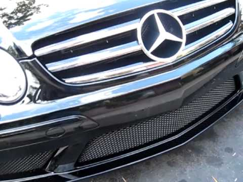 Mercedes Clk Black Series For Sale. A Black Mercedes-Benz CLK63