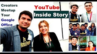 YouTube Meeting at Google office, Hyderabad with creators | Your Online Partner