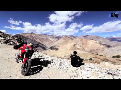 xBhp takes a Ducati Multistrada 1200 to World's Highest Village