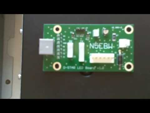 N5EBW D-STAR LED Mod on K9RRD ID-RP400 D-STAR Repeater Module 1of