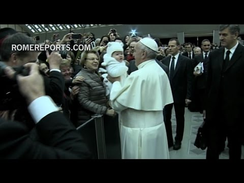 Pope Francis: People who lack hope also lack a smile