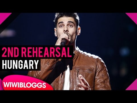 "Second rehearsal: Freddie ""Pioneer"" (Hungary) Eurovision 2016 