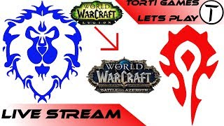 Let´s Play Live Stream von World of Warcraft legion zu #BfA#WoW[Deu/Ger]