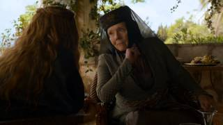(CONTAINS SPOILERS) Game of Thrones Season 4: Episode #4 Clip - Olenna on the Purple Wedding (HBO)