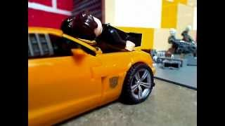 Transformers 3 Bumblebee Catching Sam Stop Motion
