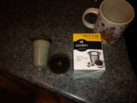 Keurig K-cup reusable filter REVIEW! Cheap keurig coffee!
