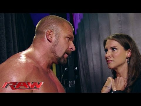 Stephanie begs Triple H not to hurt Mr. McMahon: Raw, June 10, 2013 thumbnail