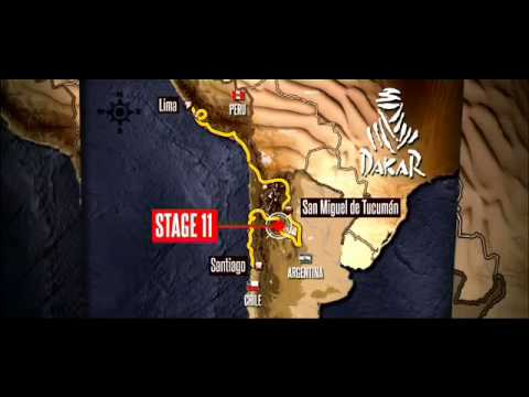 Route of the day - Stage 11 - La Rioja Fiambal&Atilde;&iexcl; - Dakar 2013 Official Hashtag: #dakar2013 More information on www.dakar.com ; Facebook.com/Dakar; Twitter.com...