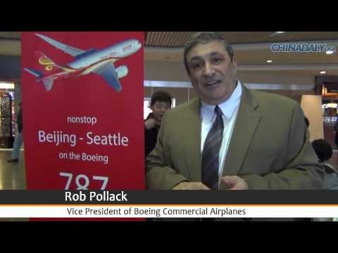 Hainan Airlines starts Boeing 787 flights in Seattle