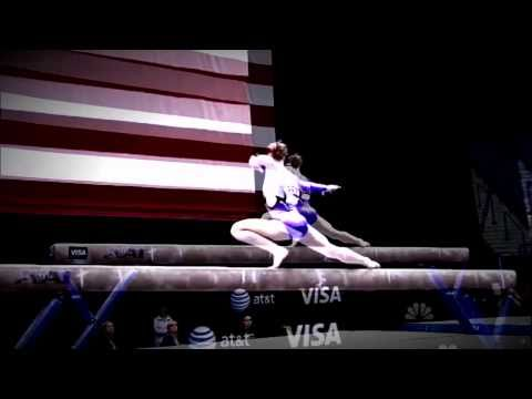 Rebecca Bross 2010 VISA Championships - ALL BUSINESS
