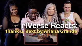 rIVerse Reacts: thank u, next by Ariana Grande - M/V Reaction