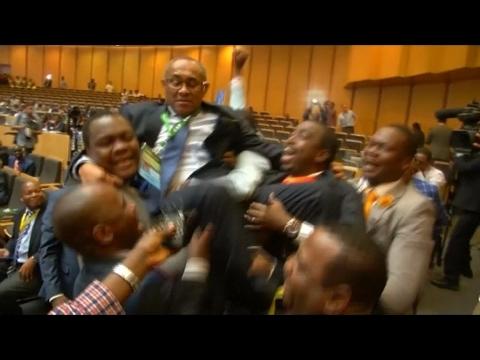 Madagascar's Ahmad Ahmad elected new CAF president