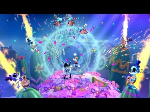 Eye of the Tiger - Rayman Legends - E3 2013 Gameplay