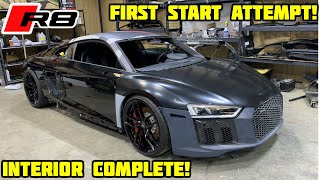 Rebuilding a Wrecked 2018 Audi R8 Part 8