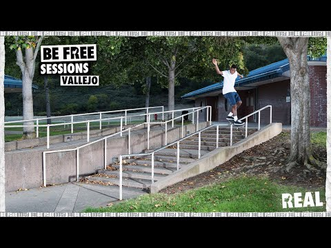 BE FREE Sessions : Vallejo with Ishod, Zion and the REAL crew