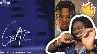 Nasty C - God Flow (Audio) ft. crownedYung | SOUTH AFRICAN MUSIC REACTION