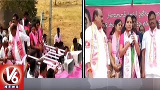 Kavitha Election Campaign With Bajireddy Govardhan In Dharpally Village | TS Assembly Polls
