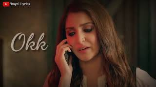 I Missed You | Ae Dil Hai Mushkil Sad Dialogue | New Whatsapp Status Video 2018 | Royal Lyrics