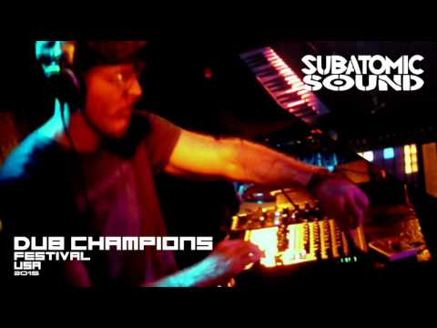 Subatomic Sound System live dub set at Dub Mission 1000
