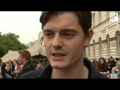 On The Road Sam Riley Interview - Kristen Stewart, Angelina Jolie & Maleficent