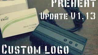 Не обзор Istick TC100W - Новая прошивка v1.13 - Preheat - Custom logo - Как обновить