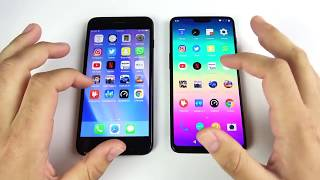 iPhone 7 Plus vs OnePlus 6 Full Comparison and Speed Test review