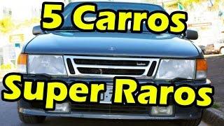 5 Carros que existem no Brasil que você não sabia!