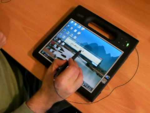 Windows 7 on Motion Computing F5 Tablet PC