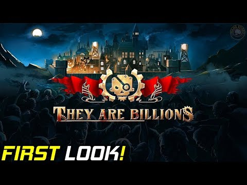 First Look Post Apocalyptic Game | They Are Billions | Gameplay Let's Play