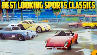 TOP 5 BEST LOOKING SPORTS CLASSIC CARS IN GTA ONLINE