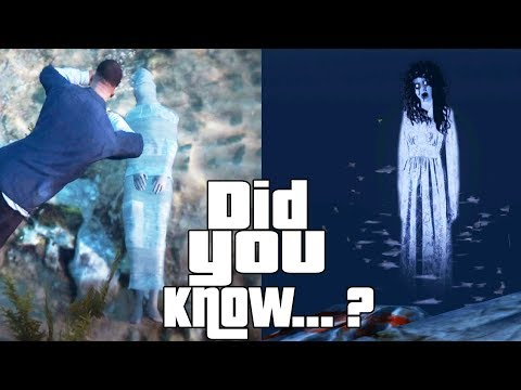 GTA 5 Easter Eggs and Secrets! Facts, Ghosts, Serial Killer, Myths