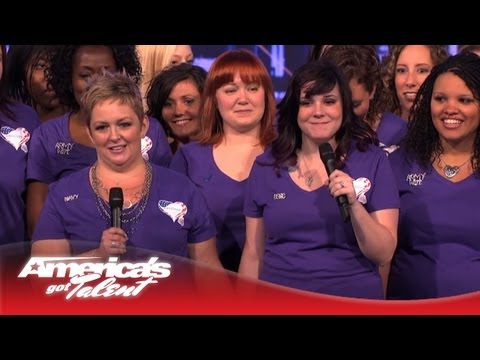 "The American Military Spouses Choir - ""Ain't No Mountain High Enough"" - America's Got Talent"
