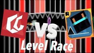 ChrisCredible Vs. Razing717 - A Race Of The Century | Geometry Dash