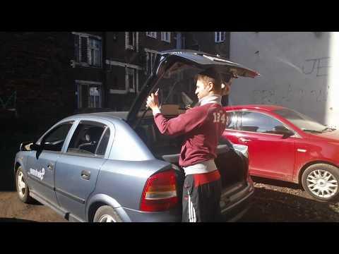 Wymina Siłownika (teleskopu) Klapy Tylnej - Opel Astra G