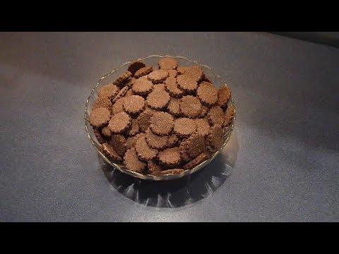 Chocolate Coconut Cookies - čokoladové kokosky (шоколадное кокосовое печенье).