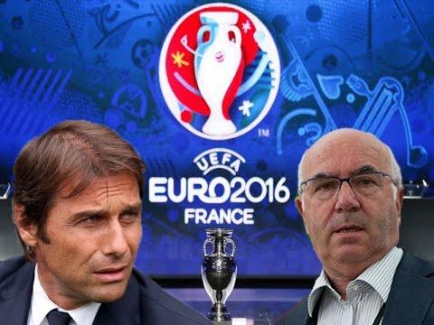 SORTEGGI EURO 2016 - Parodia Conte e Tavecchio