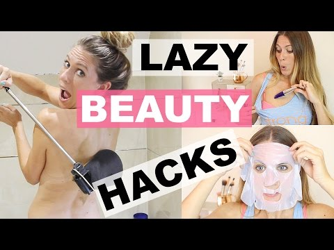LAZY GIRL BEAUTY HACKS!