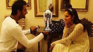 ROMANTIC - Shoaib Malik dedicates trophy to Sania Mirza