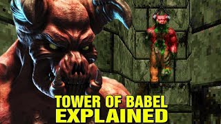 DOOM: ORIGINS - WHAT IS THE TOWER OF BABEL E2M8? WHY IS IT CALLED DOOM? HISTORY AND LORE EXPLAINED