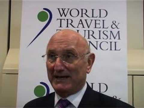 Jean-Claude Baumgarten, President, World Travel & Tourism Council @ ITB Berlin 2008