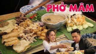 Ăn phở trong cái mâm - kiểu mới của người Sài Gòn? || 360 ĐỘ NGON