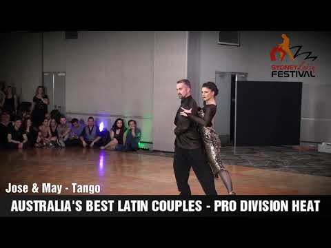 AUSTRALIA'S BEST LATIN COUPLES HEATS 2018 - JOSE & MAY,